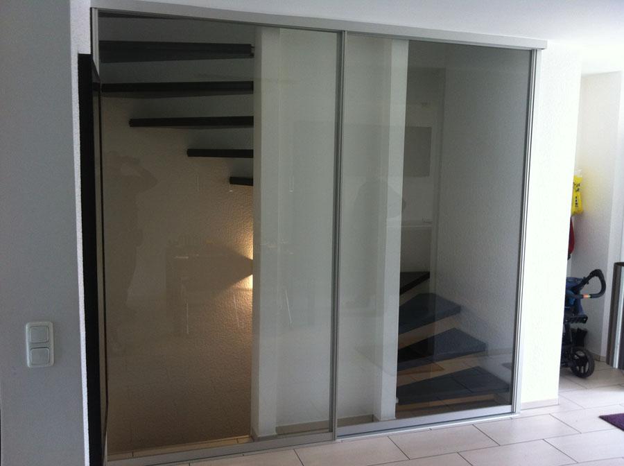 glas schiebet ren. Black Bedroom Furniture Sets. Home Design Ideas
