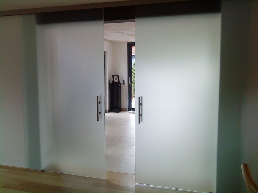 schiebeturen aus holz und glas. Black Bedroom Furniture Sets. Home Design Ideas